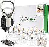 BACKLAxx ® Schröpfgläser mit Vakuumpumpe - Hochwertige...